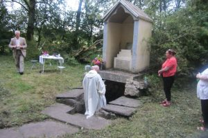 Mass at St. Joseph's Well