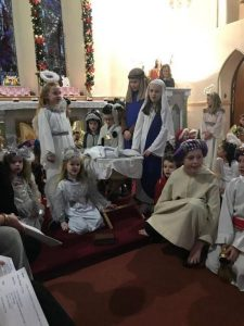 Christmas Carol Service - Church of the Immaculate Conception, Barefield