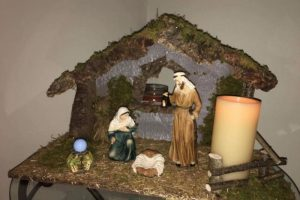 Travelling Crib through Advent