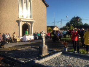 Cemetery Mass at Kilraghtis Graveyard June 2019