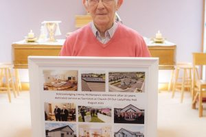 Retirement of Jimmy McNamara as Sacristan of Church of Our Lady