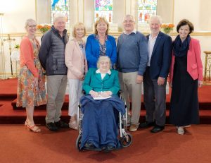 Retirement of Sally McNamara as Sacristan at Church of the Immaculate Conception, Barefield